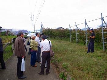 黒潮会・甲州ワイン旅(2011.10.15) 12